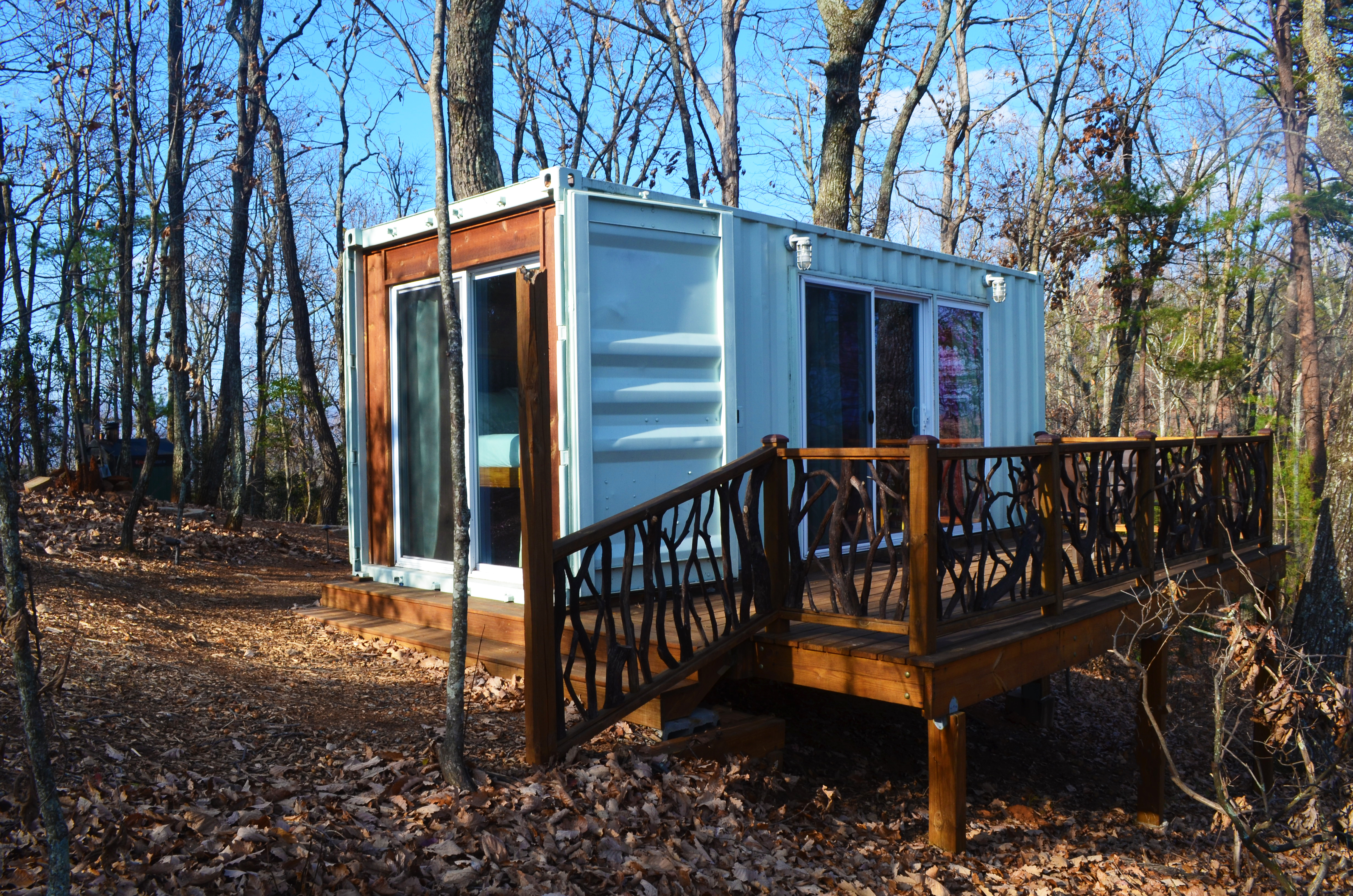 cabin eco hotel accommodations dahlonega barefoot in hills cabins ga ecocabin hotels